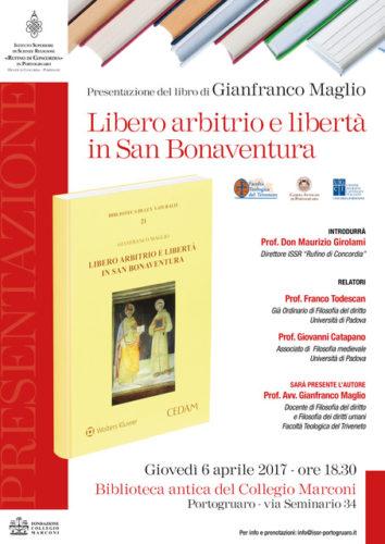 Presentazione del Libro del Prof. Gianfranco Maglio - 6 aprile 2017 - evento accreditato