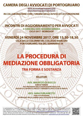 Circolare n. 9 - evento formativo del 24 novembre 2017